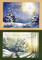 Holiday Card Project 2015 by JoaRosa
