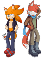 .:Hot Dudes:. by SonicWind-01
