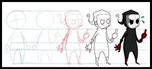Character process- Leth by Carlos-the-G