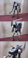 literally trashy armored core by platinumraven