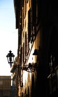 sunset via in florence by Kolka12
