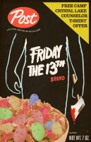 Friday the 13th Cereal by Hartter