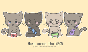 The Purrtles by Temima
