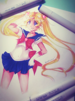 Sailor Moon by princessharuhi