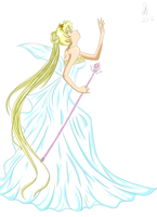 Neo Queen Serenity by Xai-Archrion