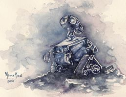 Wall-e by minnamr