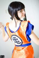 Chi Chi in Goku Gi by musableCOSPLAY