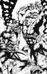 Hulk VS Abomination by JesterretseJ