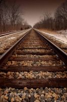 Endless Railroad by AppareilPhotoGarcon