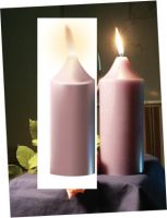 Gradient Mesh Candle by Stacey1mb