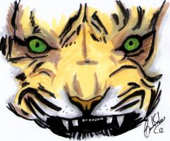 MARKER test II Tiger by tesumii