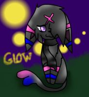 glow the espeon by echotheglaceon