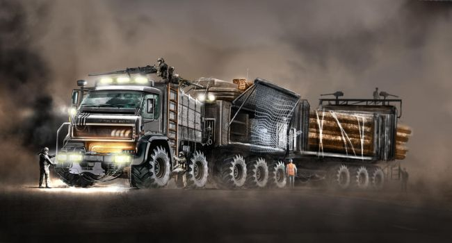 Wood Carrier 1 by yasiddesign