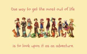 Life is an Adventure by Doppelmore