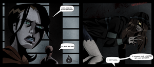 My Huntress in Left4Dead: The Sacrifice comic :D by Venetia-the-Hedgehog