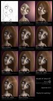 House of Dolls 01 - Process by BlackCyanide-fr