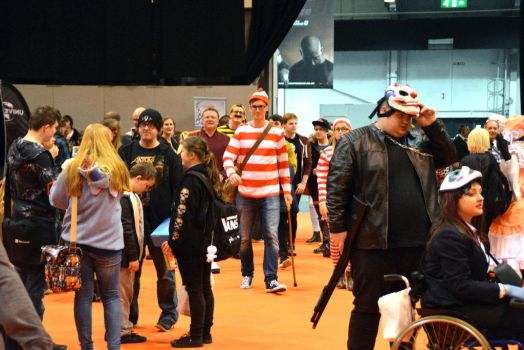 Where's Wally Midlands Comic Con 2017 by masimage