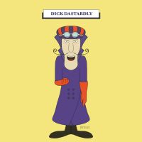 Dick Dastardly (Wacky Races) by haydenyale