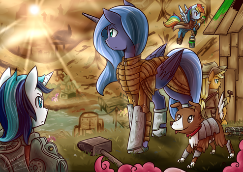 Fallout LunaTia by vavacung