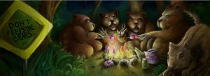 Don't feed the bears... by Pendalune