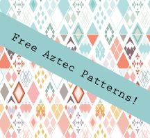 Aztec Pattern by caralinaj