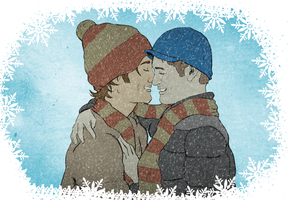 Baby, It's Cold Outside by dephigravity