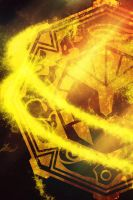 Kamen rider Beast Symbol iPhone Wallpaper by Nac129