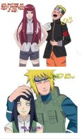 minakushi with naruhina by DreiBee07