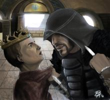 Joffrey and the Assassin by cyink