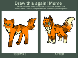 see the improvement oAo by Freckled-Kat