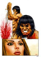 conan sequentials page 11 colored by bek76