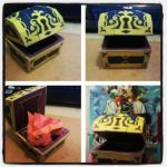 Kingdom Hearts II Chest-Papercraft by MESS-Anime-Artist