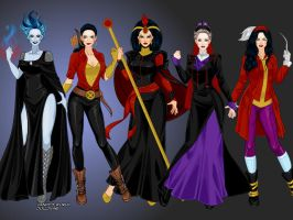 Disney X-men Villains (costume view) by LadyRaw90