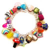 Rainbow Charm Bracelet 6 by fairy-cakes