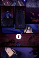 A Chase (Teaser comic page?) by Ceshira