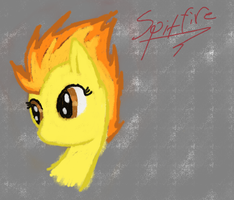Spitfire Doodle by DictionMLP