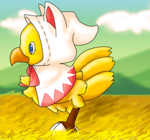 Collab Chocobo by No-False-Saint