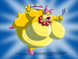 Sumo Wendy Koopa by RickyDemont