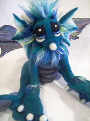 Spearmint Dragon- by Tanglewood-Thicket