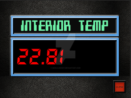 Real Internal Temperature Display by sicklilmonky