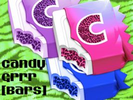 Candy Grrr Bars-3 PNG icons by TheGreyMatter5050