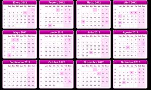 Calendario  2012 by BeliebersEditions