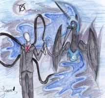 The Slender and The NightMare... by AngelPony99