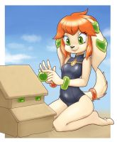 Milla's sand castle by nauth