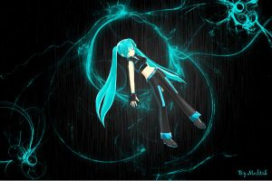 MMD Project Diva Miku by innaaleksui