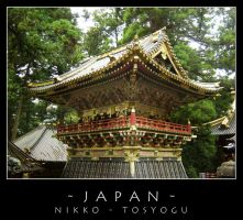 Japan - Tosyogu shrine by dark-spider