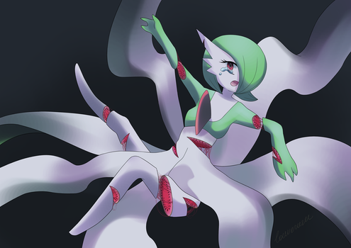 Gardevoir Fruit Guro by louverusee