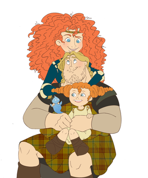 Family Portrait by Weasley-Detectives