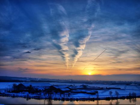 Yule sunrise by pagan-live-style