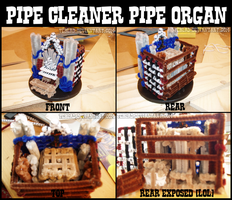 Pipecleaner Pipe Organ by teblad